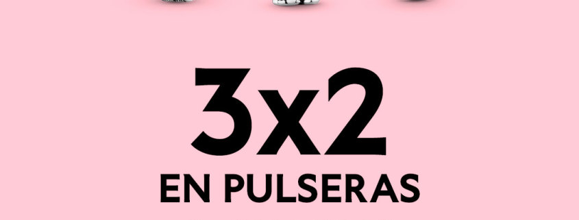 Pandora promo 3x2 en charms